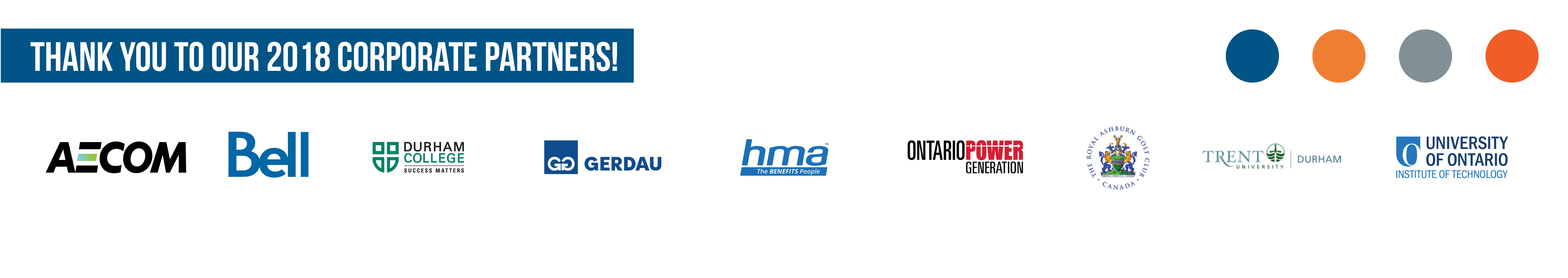 Thank you to our 2018 Corporate Partners